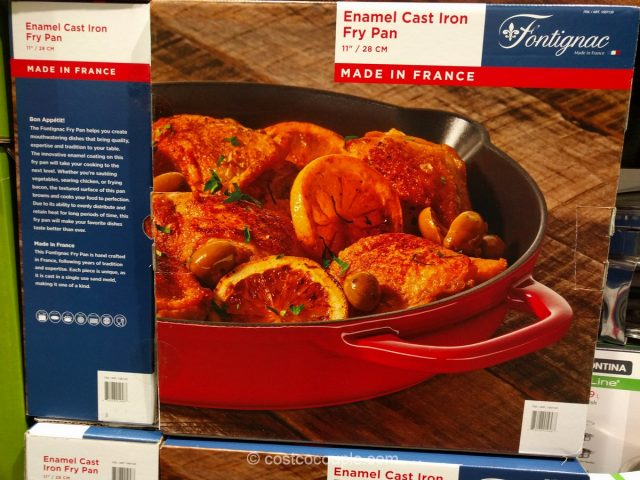 fontignac-enamel-cast-iron-fry-pan-costco-2