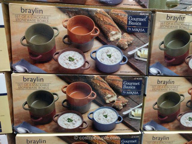 Gourmet Basics By Mikasa Braylin Bowl Set