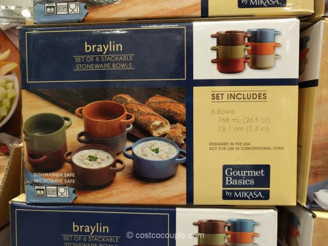 Gourmet Basics By Mikasa Braylin Bowl Set
