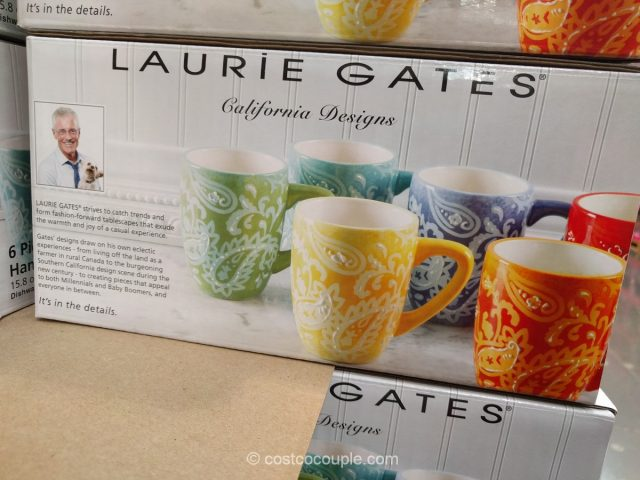 Laurie Gates Serafina Mug Set Costco X on Zero Gravity Chair Costco