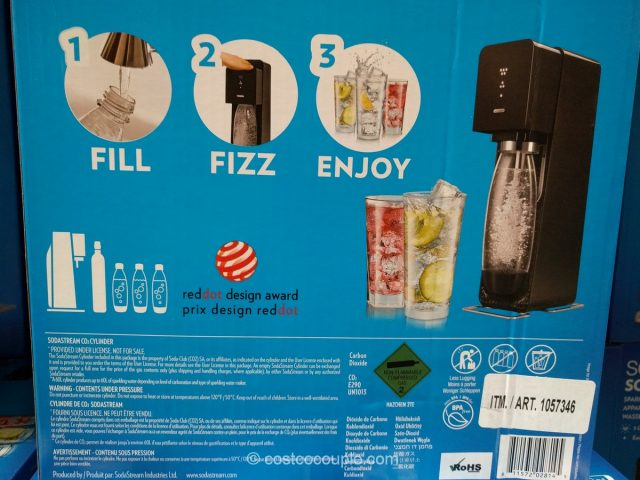 Sodastream Sparkling Water Machine