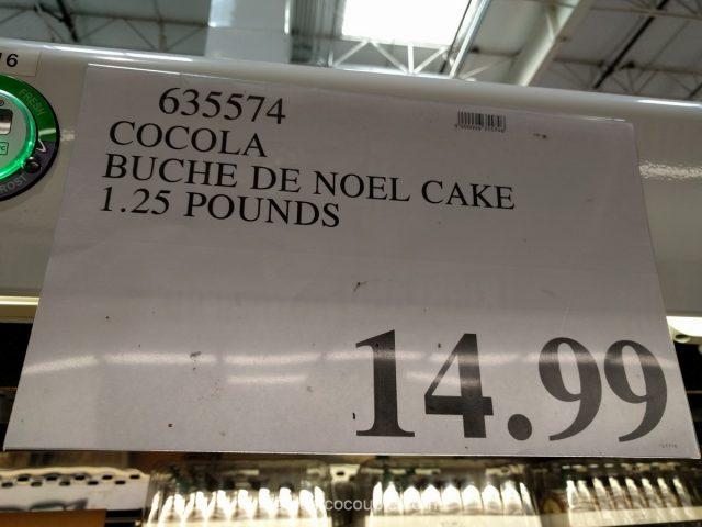 Cocola Tiramisu Buche De Noel