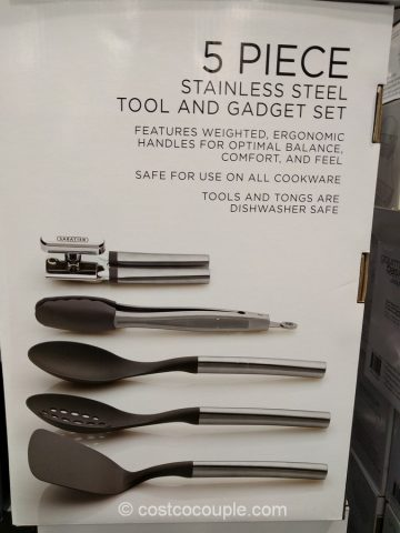 Sabatier 5 Piece Kitchen Tool Set Costco 4 ...