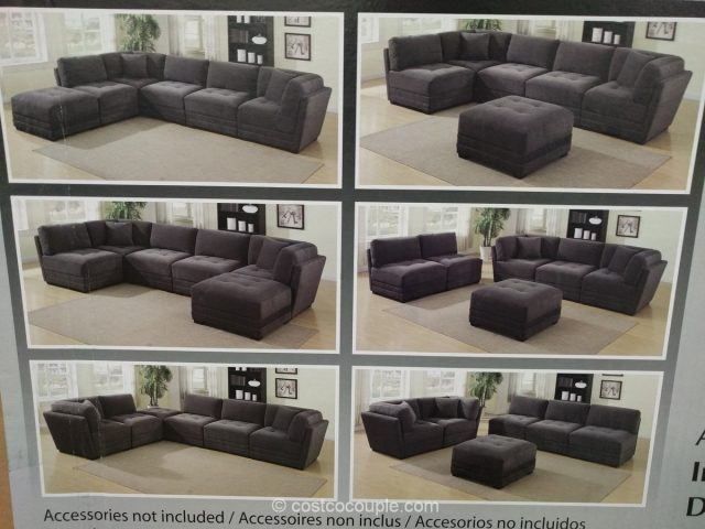6-piece-modular-fabric-sectional-costco-3 ... : costco sectional - Sectionals, Sofas & Couches