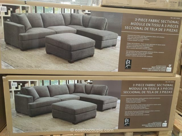 Bainbridge Fabric Sectional Costco Home Ideas