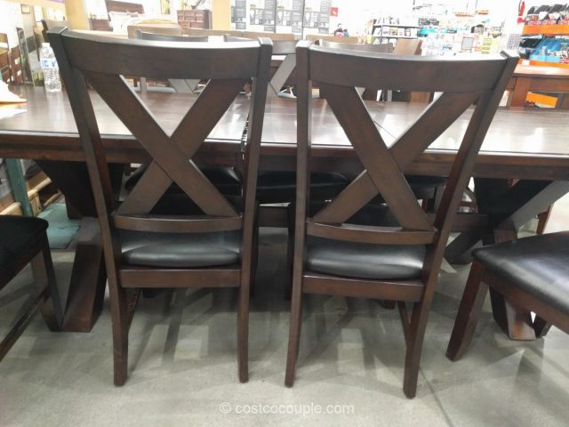 Bayside Furnishings 9 Piece Dining Set Costco 4 ...