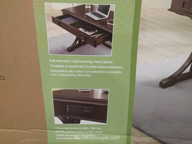 Bayside Furnishings Writing Desk Costco 4
