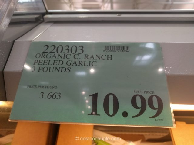 Christopher Ranch Peeled Garlic Costco 1