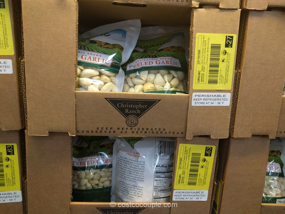 Christopher Ranch Peeled Garlic Costco 2