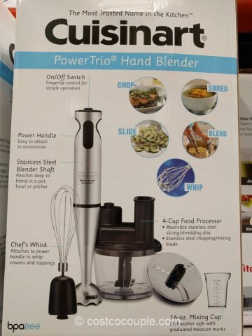 Cuisinart Power Trio Hand Blender