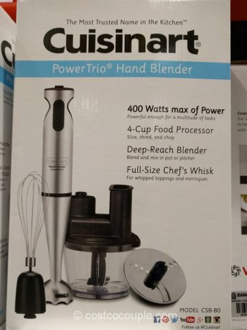 Cuisinart Power Trio Hand Blender Costco 4