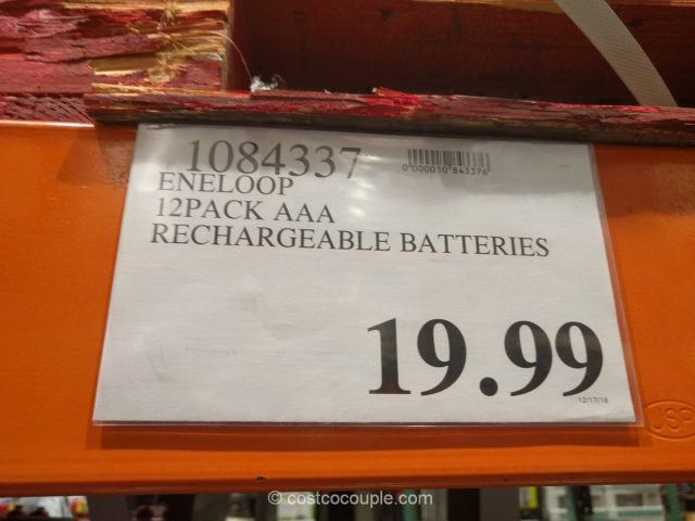 Eneloop AAA Rechargeable Batteries Costco 1