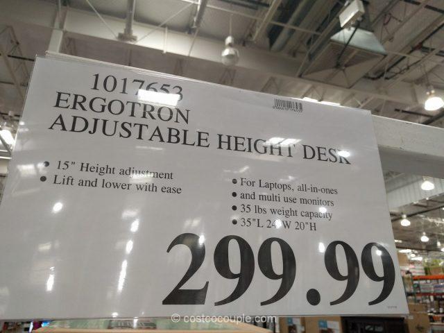 Ergotron Adjustable Height Workspace