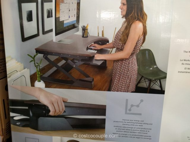 Ergotron Adjustable Height Workspace