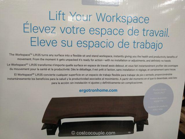Ergotron Adjustable Height Workspace Costco 9