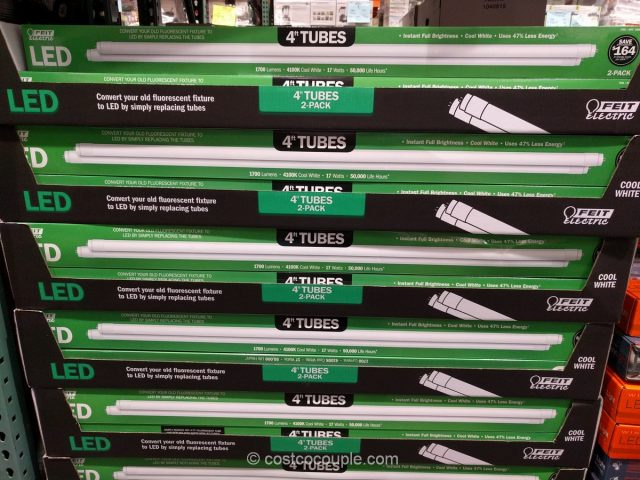 Feit Electric 4-Ft LED Tubes Costco 2