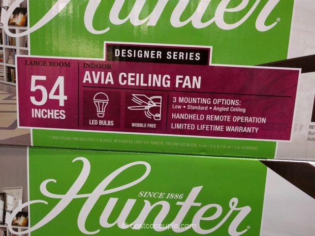 Hunter Avia Ceiling Fan Costco 3