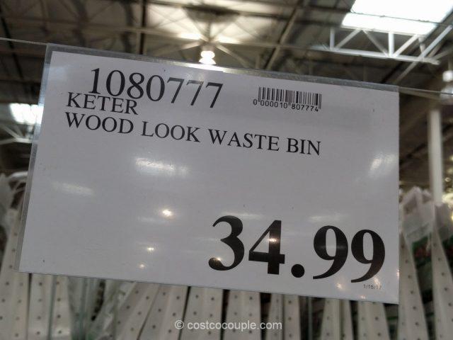 Keter Copenhagen Waste Bin Costco 1