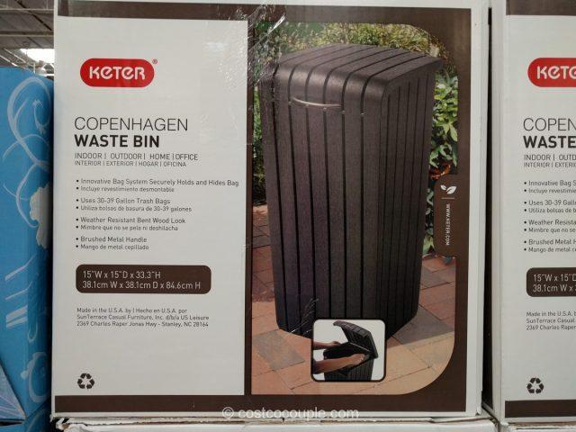 Keter Copenhagen Waste Bin Costco 2