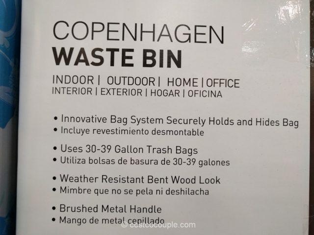 Keter Copenhagen Waste Bin Costco 3