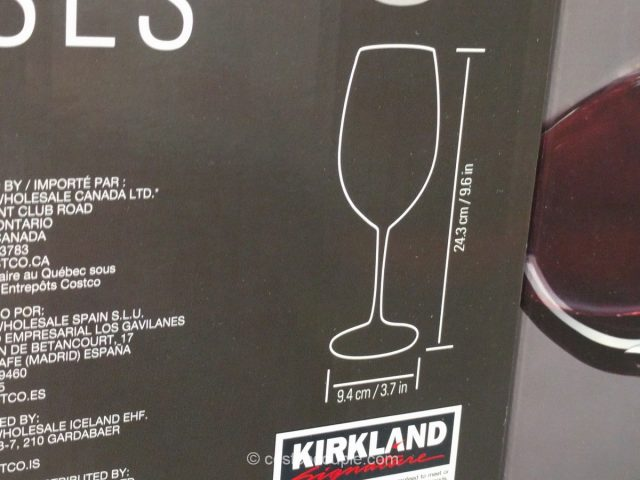 Kirkland Signature All-Purpose Wine Glasses Costco 3