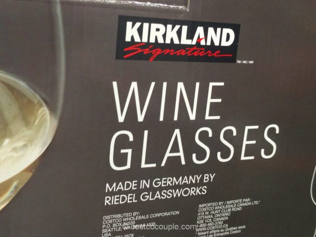 Kirkland Signature All-Purpose Wine Glasses Costco 4