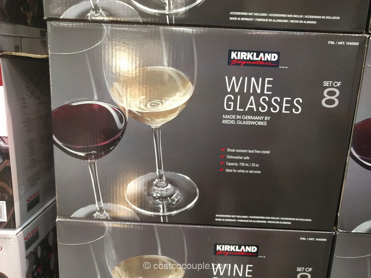 Kirkland Signature All-Purpose Wine Glasses Costco 5