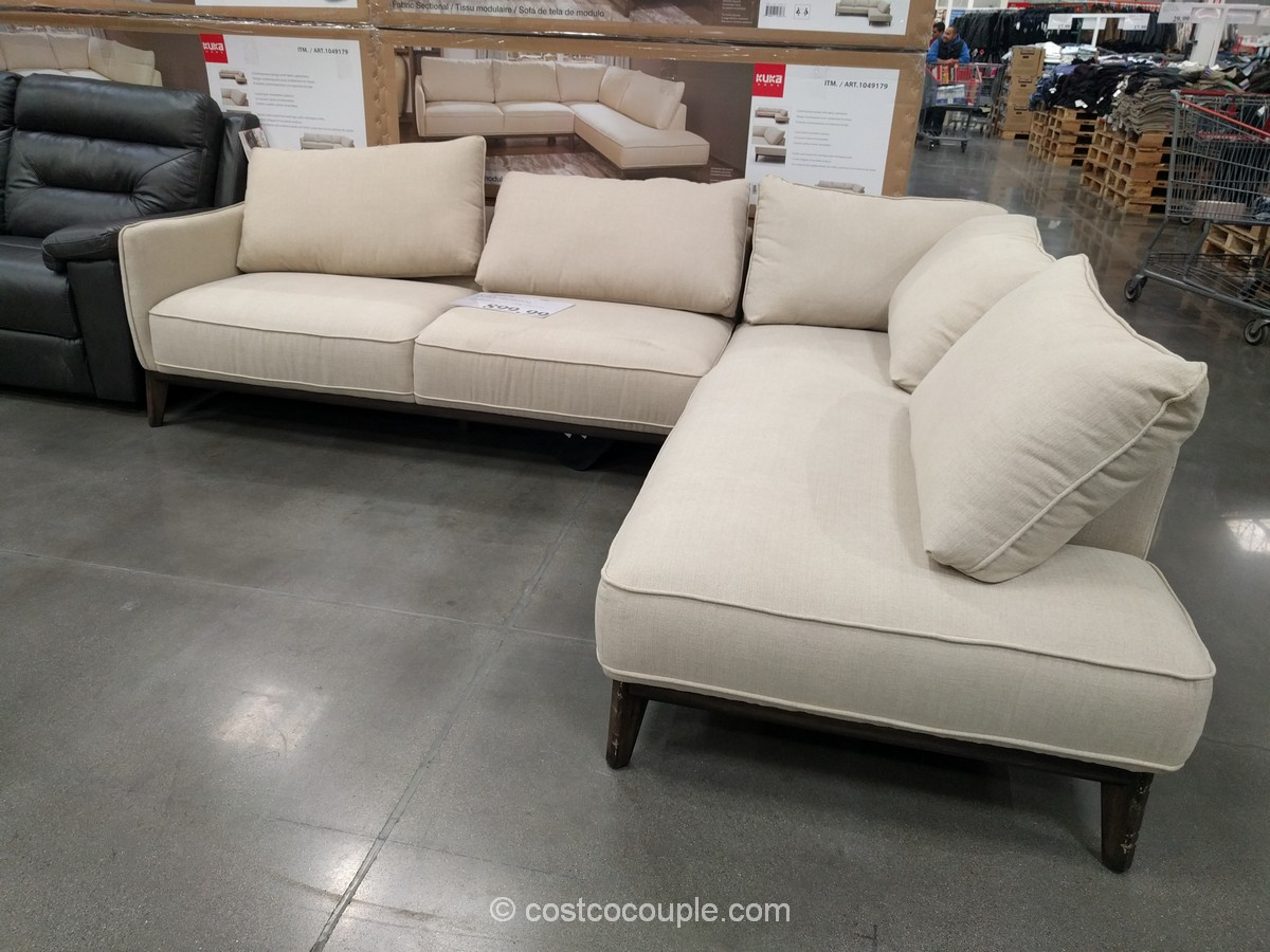 Kuka Fabric Sectional Costco 2