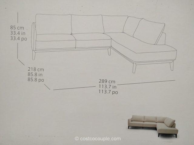 Kuka Fabric Sectional Costco 5