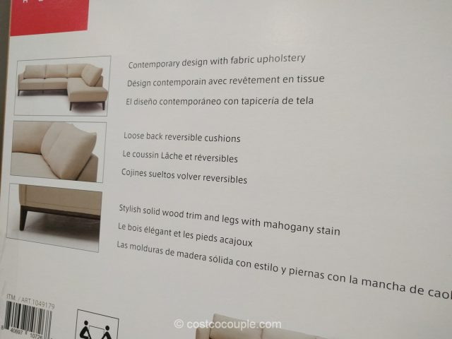 Kuka Fabric Sectional Costco 6