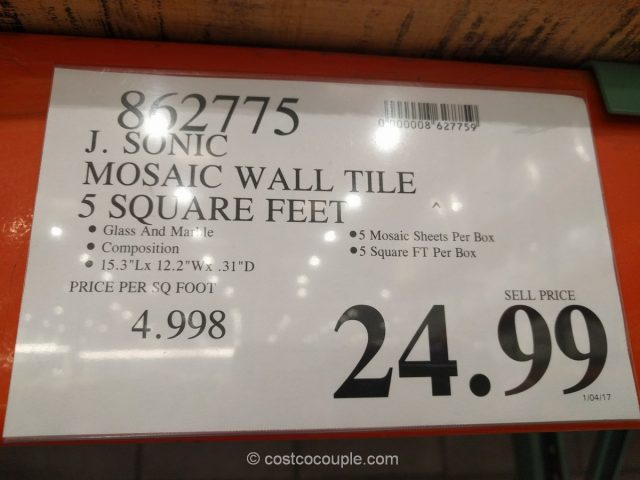 Mosaic Wall Tile Costco 1