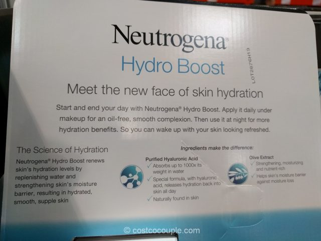 Neutrogena Hydro Boost Set Costco 5