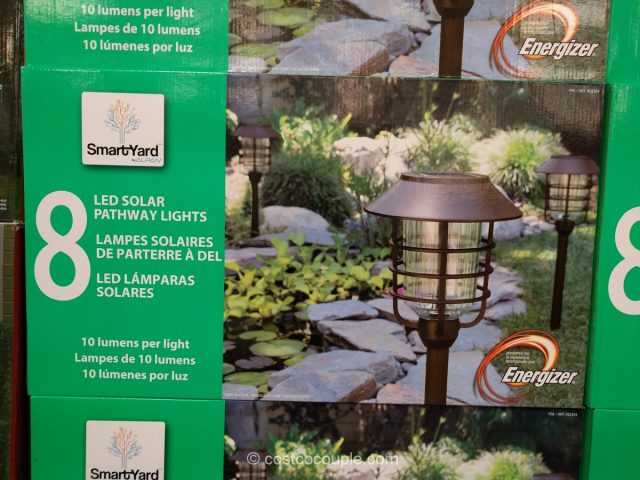 Smartyard LED Solar Pathway Lights 10 Lumen Costco 2