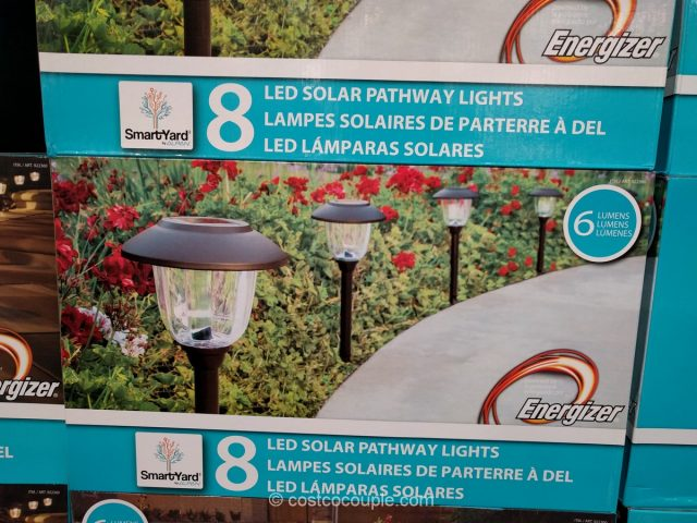 Smartyard LED Solar Pathway Lights Costco 2