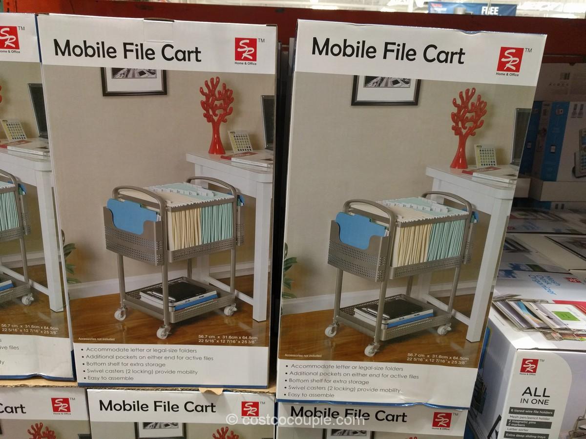 Sunrising Intl Mobile File Cart Costco 2