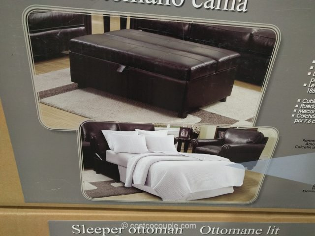 Synergy Home Sleeper Ottoman Costco 5