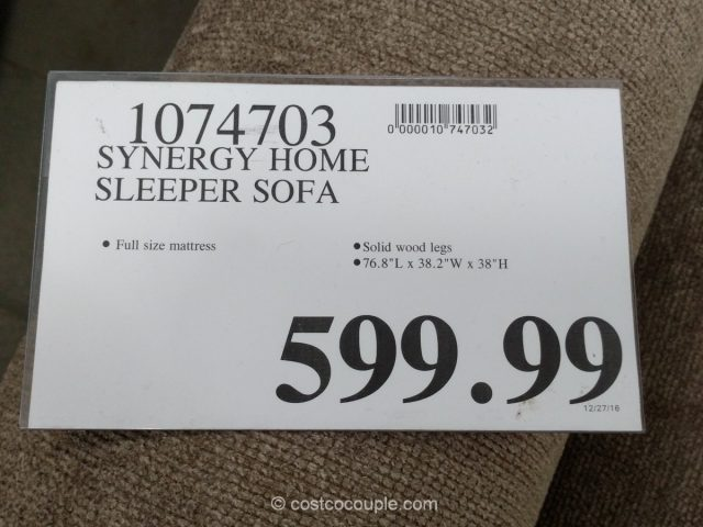 Synergy Home Sleeper Sofa Costco 1