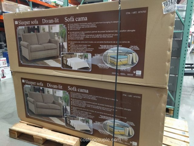 Synergy Home Sleeper Sofa Costco 4