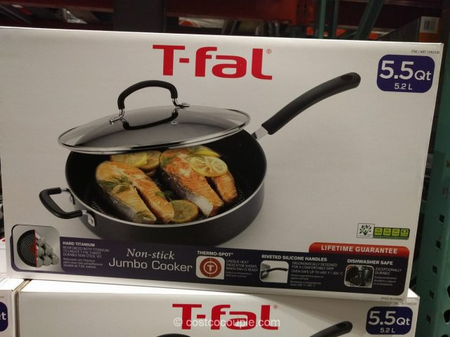 T-Fal Non-Stick Jumbo Cooker Costco 4