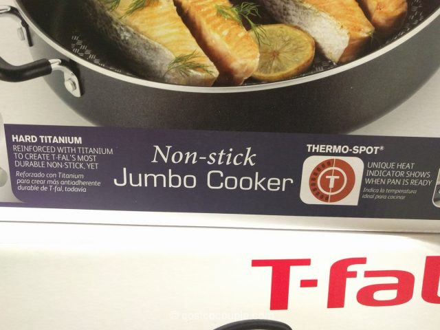 T-Fal Non-Stick Jumbo Cooker Costco 6
