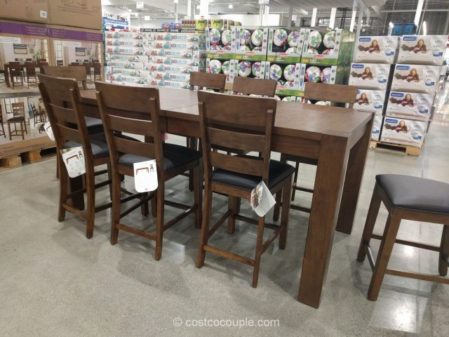Universal Broadmoore 9 Piece Dining Set Costco 3