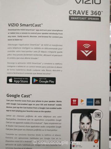 Vizio Crave 360 Smartcast Speaker Costco 7