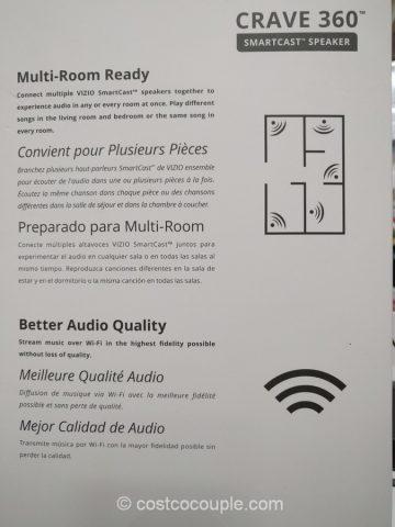 Vizio Crave 360 Smartcast Speaker Costco 8