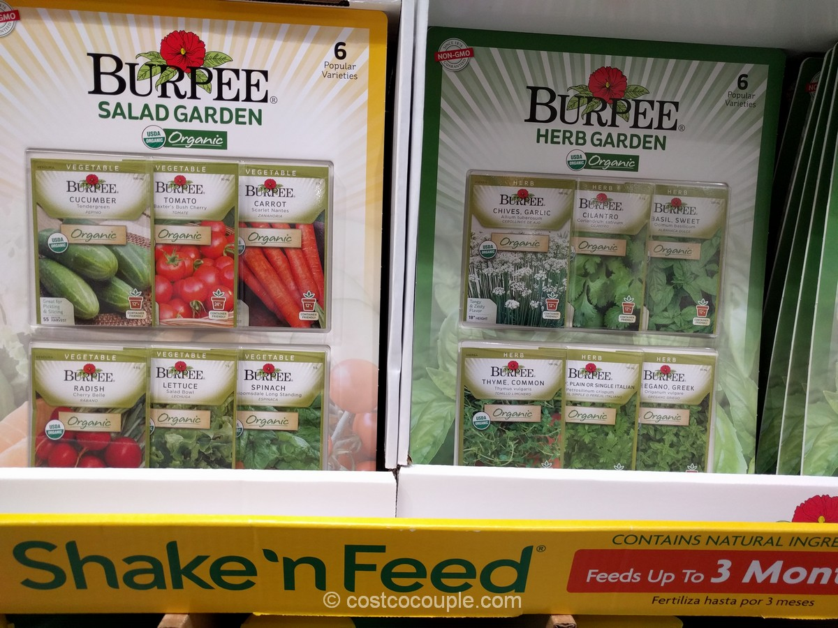 Burpee 6-Pack Organic Seeds Costco 2