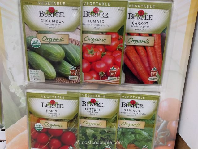 Burpee 6-Pack Organic Seeds Costco 3
