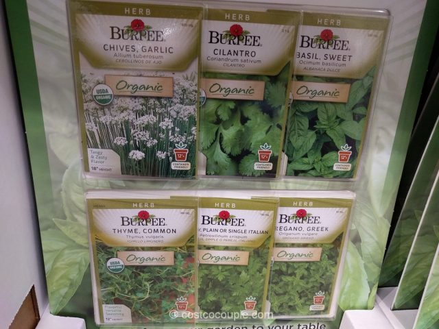 Burpee 6-Pack Organic Seeds Costco 4
