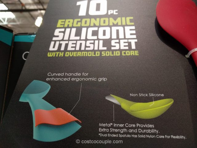 Core Kitchen 10-Piece Silicone Utensil Set Costco 3