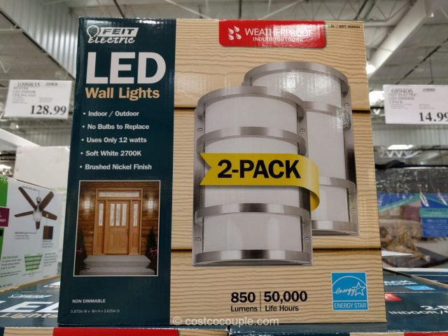 Feit Electric LED Wall Sconce Costco 4