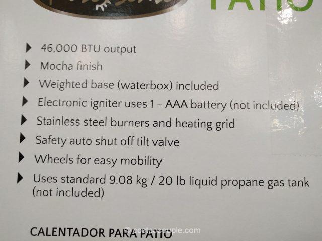 ... Fire Sense Commercial Patio Heater Costco 3 ...