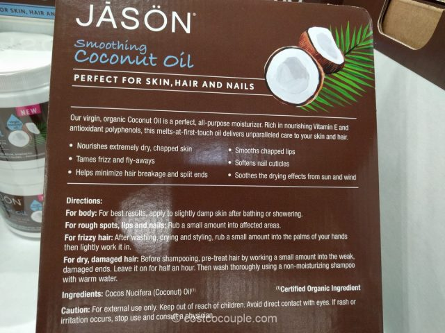 Jason Smoothing Organic Coconut Oil Costco 5